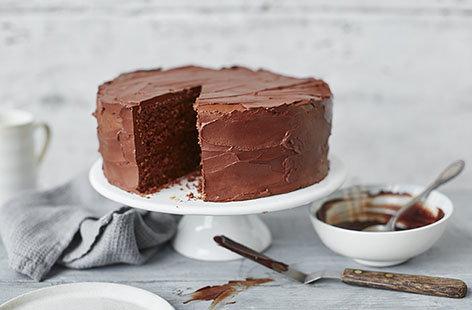Chocolate Cake Recipe Chocolate Sponge Cake Tesco Real Food
