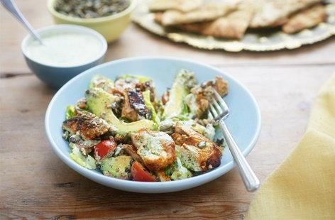 Tandoori Chicken Salad | Indian Meals | Tesco Real Food