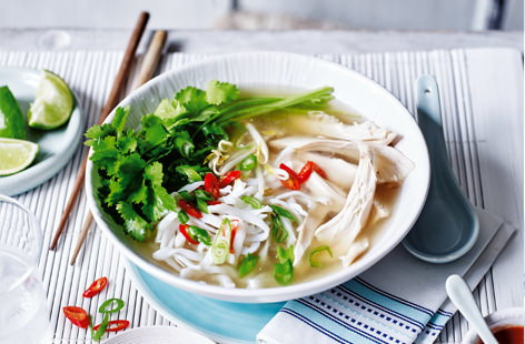 Vietnamese chicken pho   Tesco Real Food