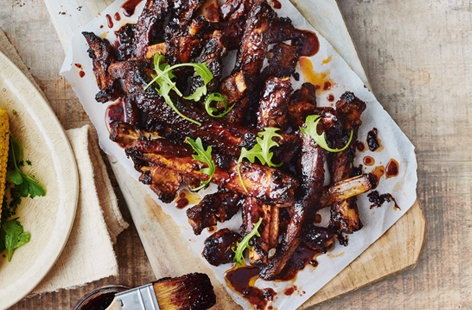 Sticky spiced ribs