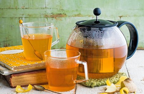 If you try one thing this year, make it this refreshing, spice-infused herbal tea. Packed with anti-oxidants and great for aiding digestion, turmeric is a real ingredient to watch