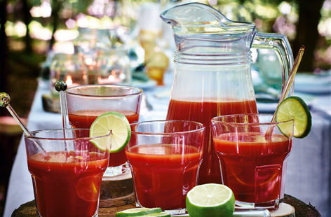 Mulled bloody Mary