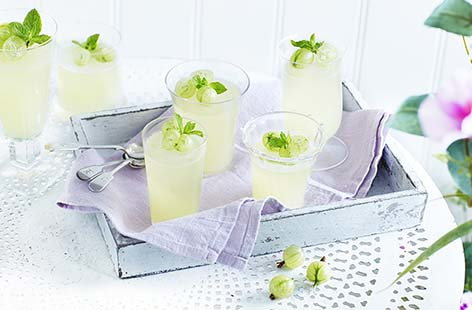 Prosecco mint jelly dessert recipes tesco real food for Prosecco dessert recipes