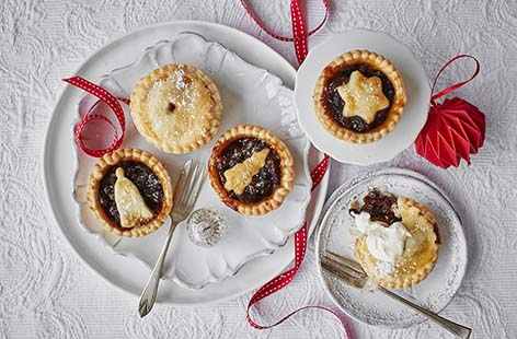 It wouldn't be Christmas without a mountain of rich and fruity mince pies and our classic recipe is totally delicious