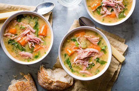 Cooked for 8 hours in a slow cooker, nothing beats a steaming bowl of hearty soup on a cold day. This delicious soup recipe cooks on low for 8 hours, so you can enjoy a busy day and come home to a fantastic food hug