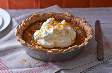Bursting full of flavour, this classic pumpkin pie is filled with richly spiced golden-orange pumpkin on a delicious rustic shortcrust pastry base
