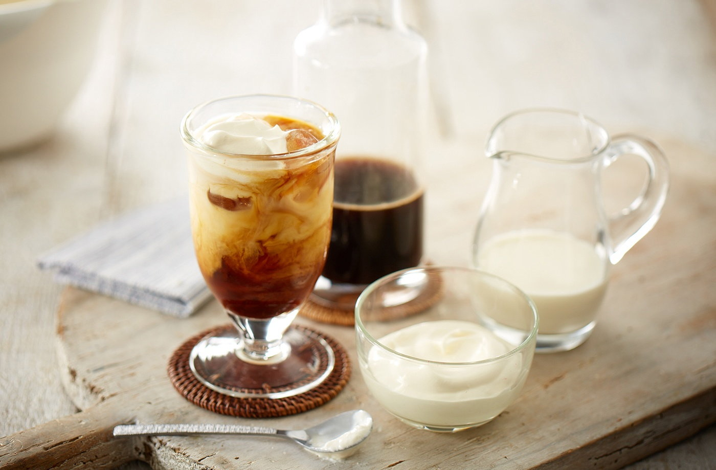 Real iced coffee