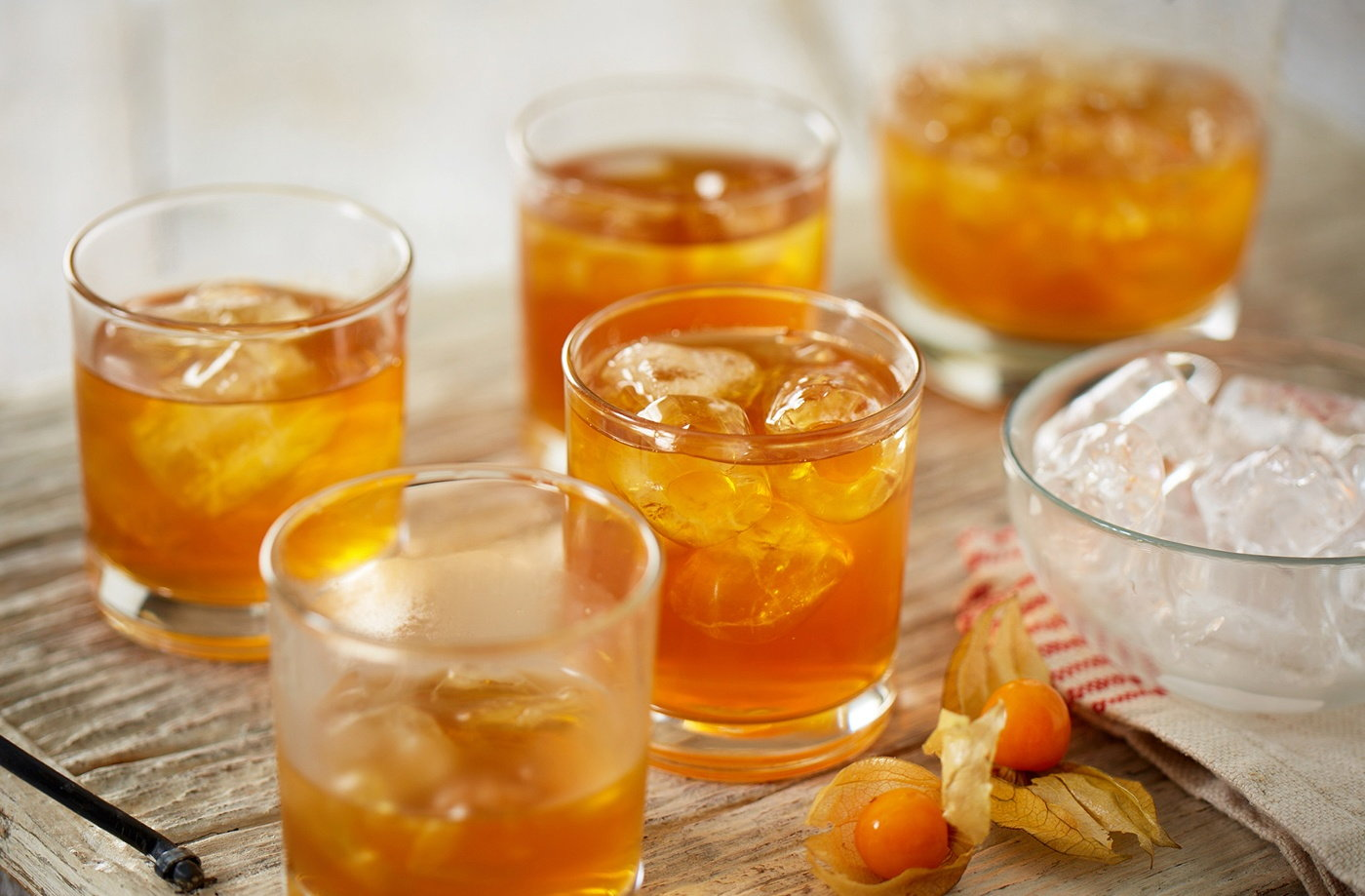 Iced rooibos scrum recipe