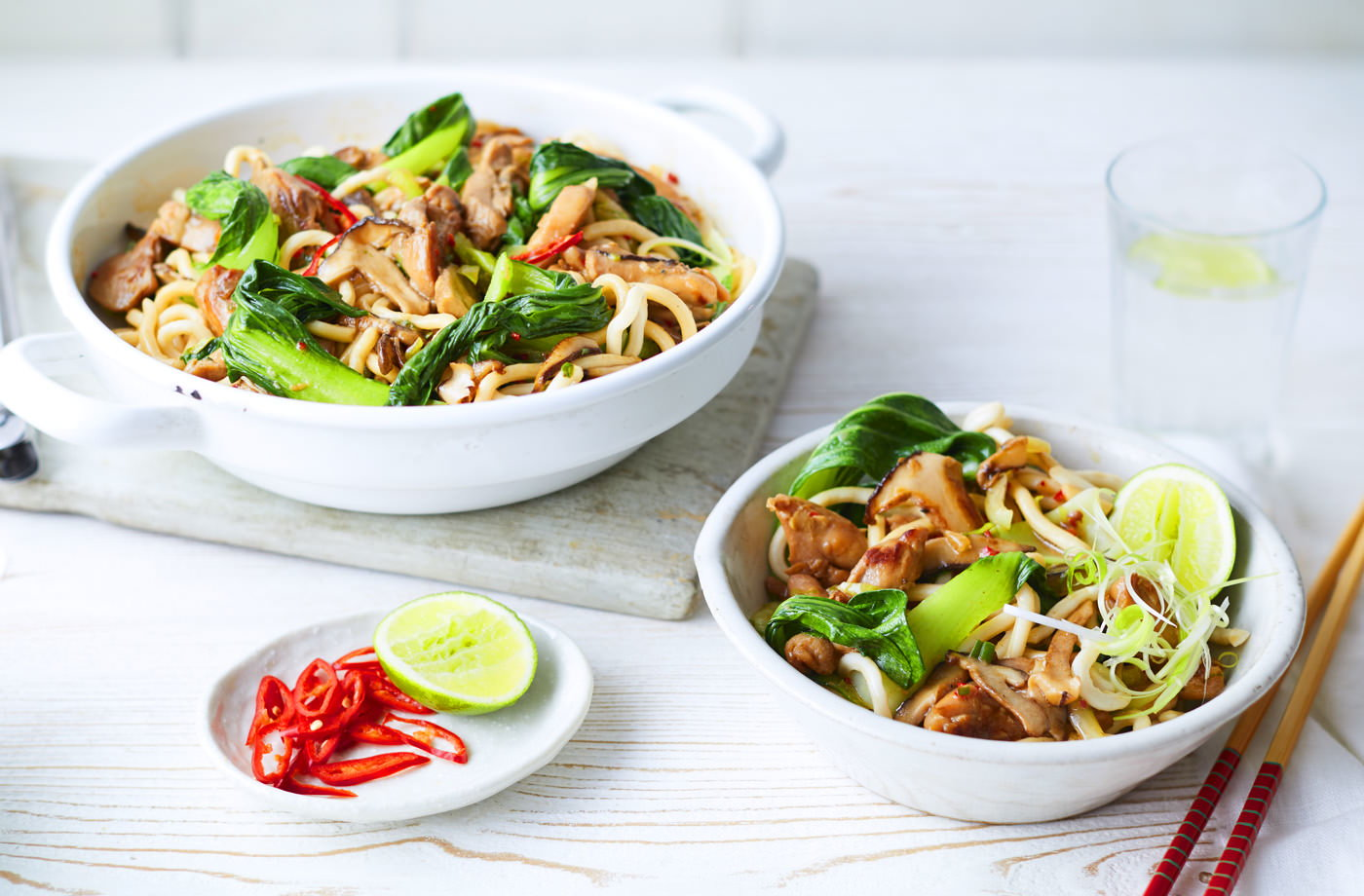Shanghai noodles recipe