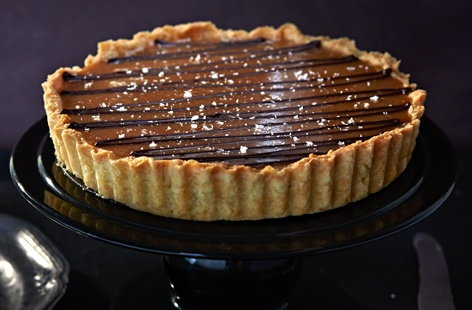 Salted Caramel Tart Caramel Recipes Tesco Real Food