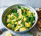 Spiced Jersey Royals and turkey stir-fry