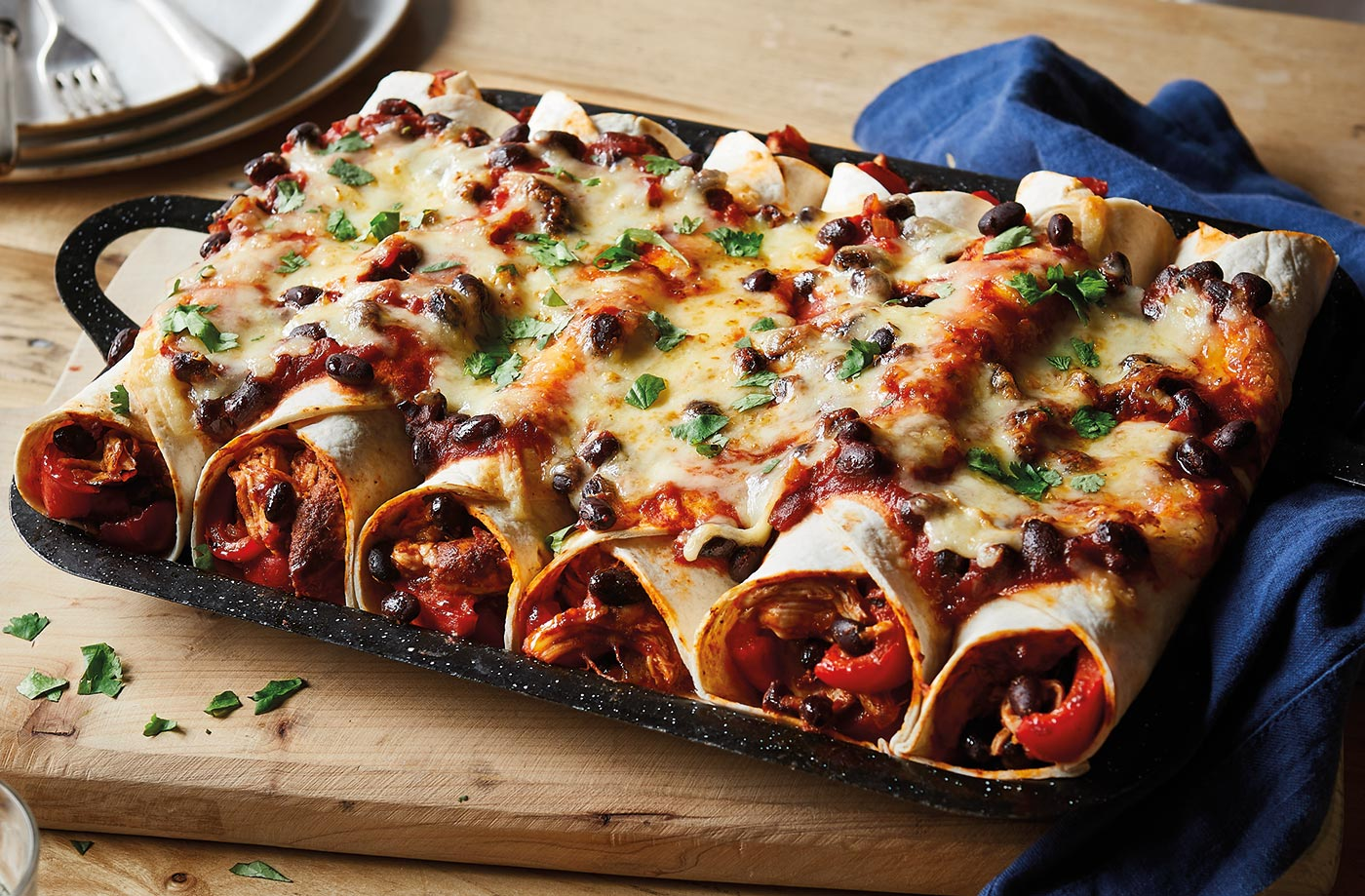 tesco food lover stories enchiladas