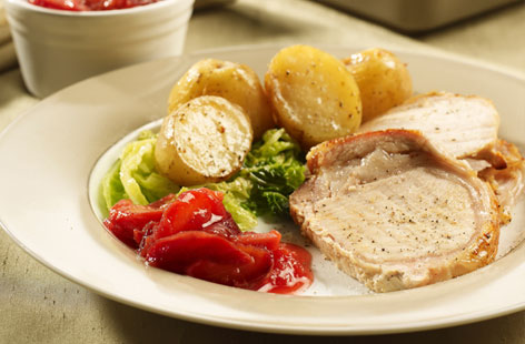 Roast pork loin THUMB