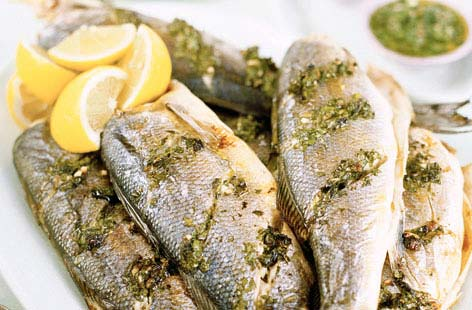 Roast sea bass with salsa verde HERO ec220bcc e485 4364 9a76 5af9a98aa471 0 472x310