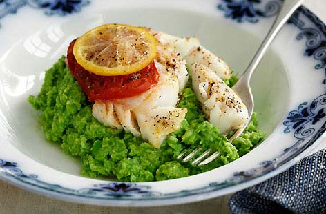Roasted Lemon Coley with Pea Puree thumb 0a1a3fa4 13e1 491a 95e9 e5c7e26edc21 0 146x128