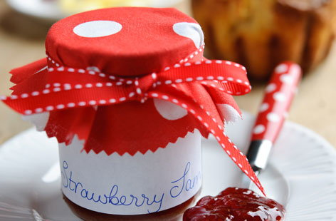 Roasted Sweet Eve Strawberry Vanilla Jam (h)