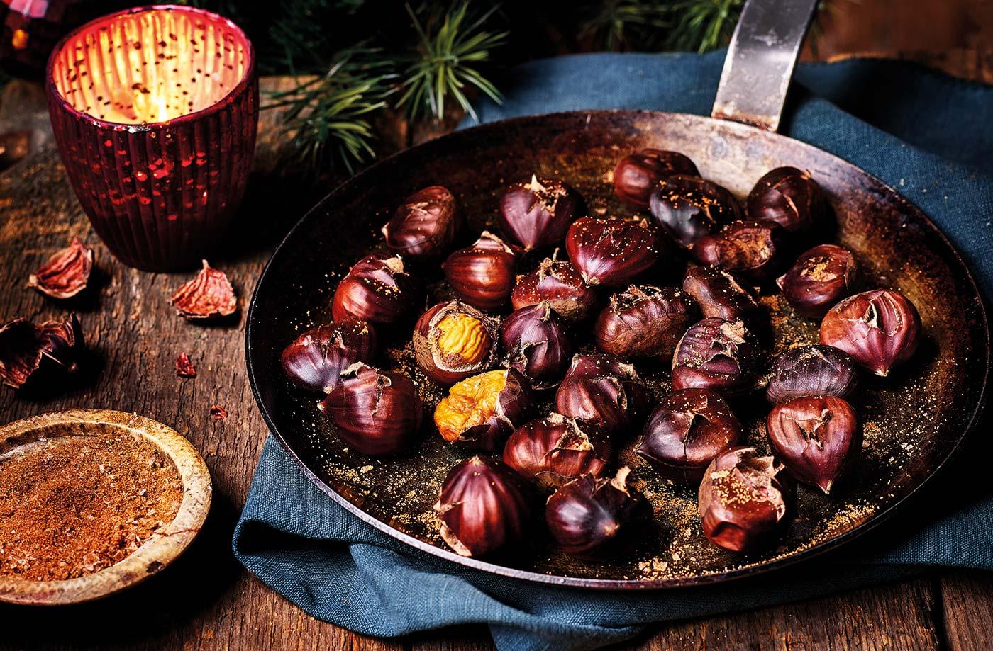 Roasted Chestnuts Recipe | Christmas Recipes | Tesco Real Food
