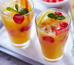 Mixed fruit punch