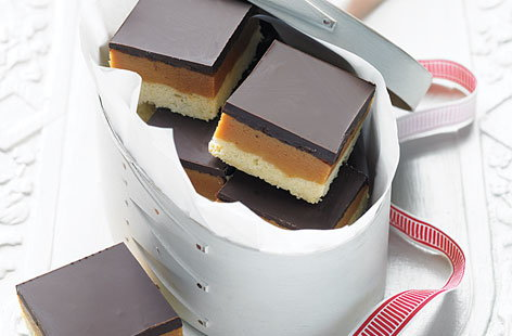Salted caramel shortbread HERO