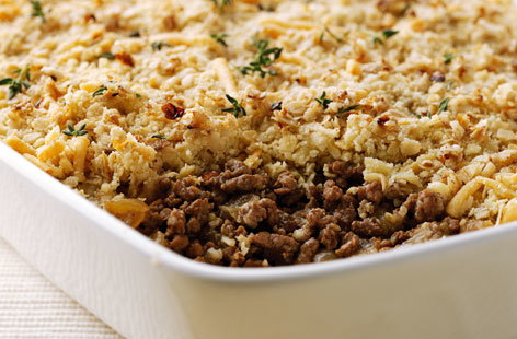 Savoury Mince Crumble (h)