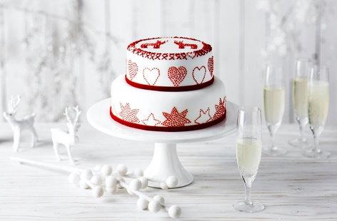 Christmas Cake Decorations Tesco : Christmas Cake Christmas Desserts Tesco Real Food