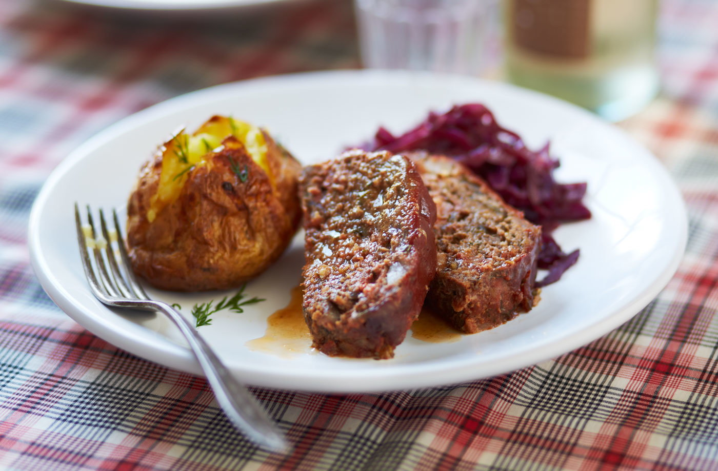 Slow cooker scandi spiced meatloaf recipe