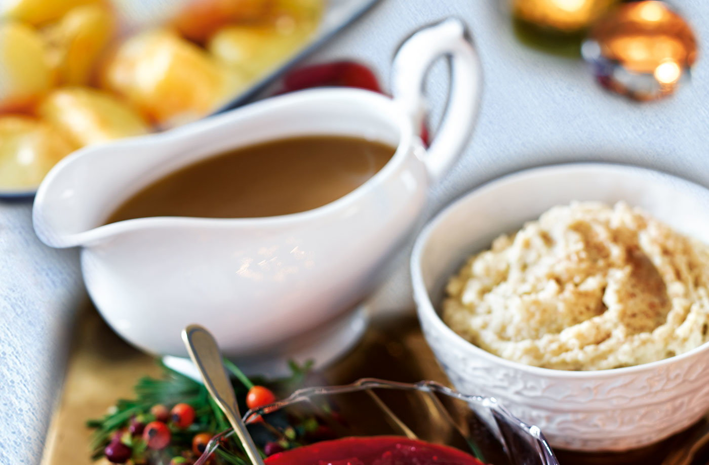 Sherry and redcurrant gravy recipe