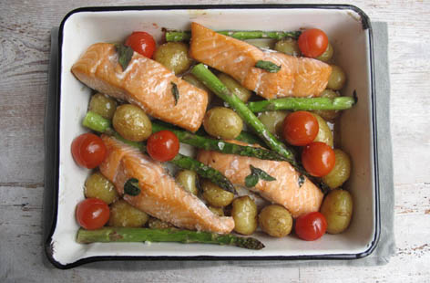 Simple summer Salmon