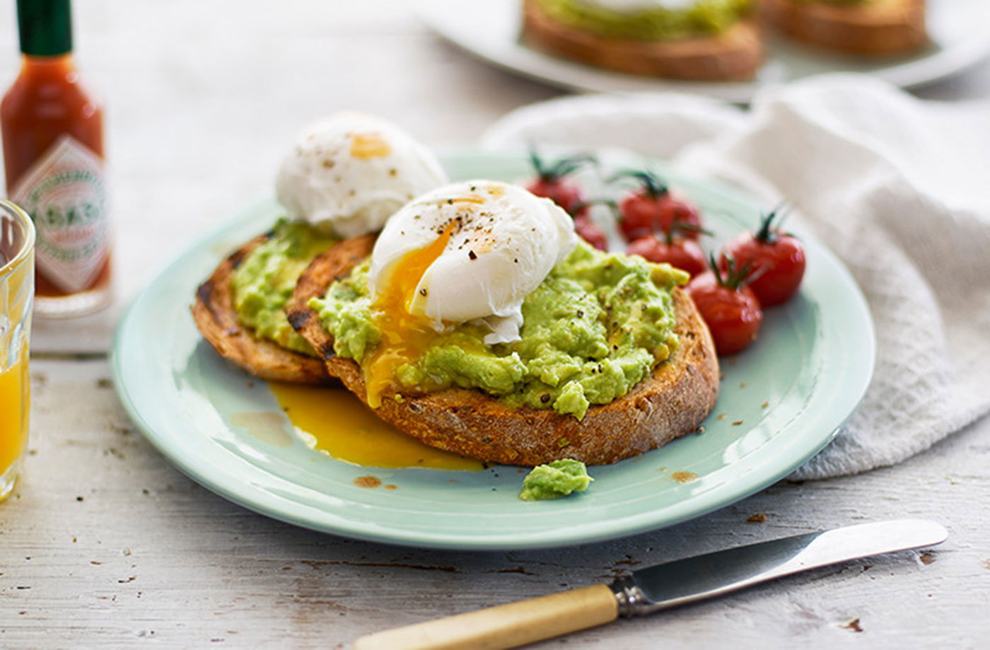 Smashed Avocado On Toast Avocado Recipe Tesco Real Food