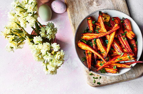 Made smoky thanks to a generous scattering of smoked paprika, these parsnips are roasted till golden, crunchy and tender