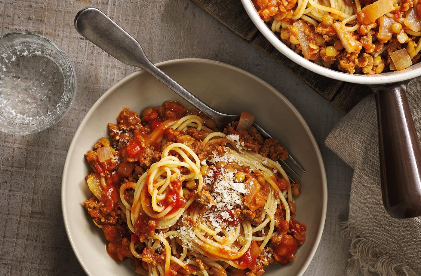Spaghetti Bolognese Tesco Real Food