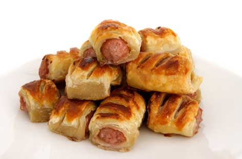 Speedy sausage rolls recipe