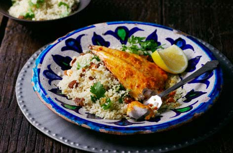 Spice crusted sea bream fillets with cous cous thumbnail f07288ff cce5 4840 b718 0b71ea997443 0 146x128