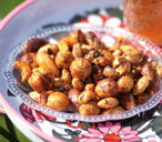 Spiced nuts with paprika
