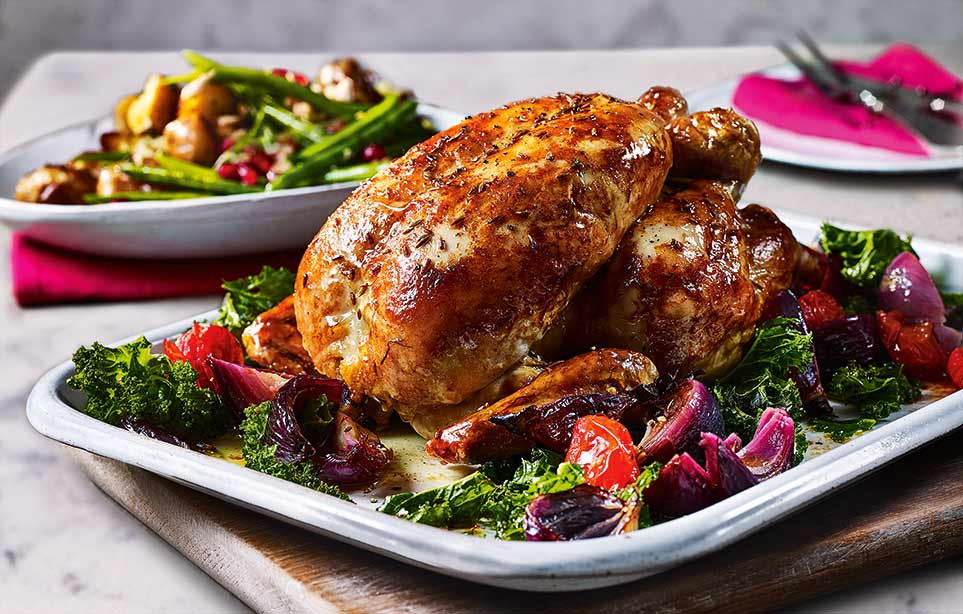10 ways to flavour roast chicken