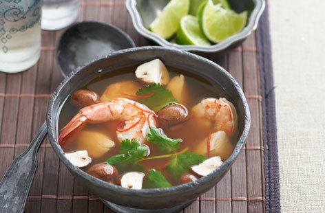 Spicy Tom Yum Soup HERO