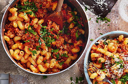 Pasta is the ultimate store cupboard ingredient - quick, easy and endlessly versatile
