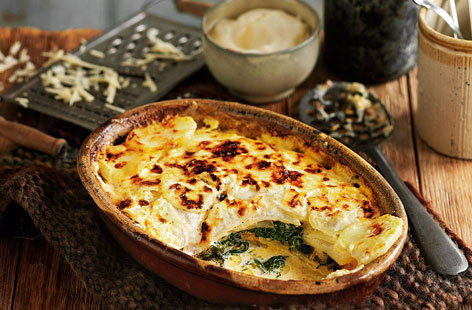 Spinach Pot Gratin HERO