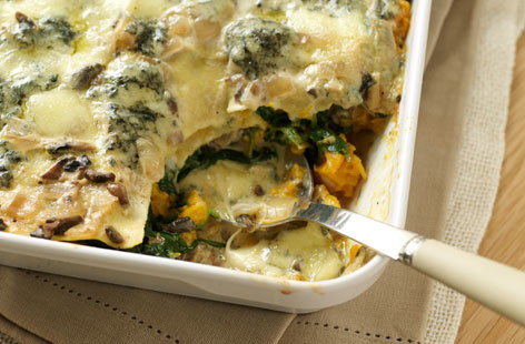 This is the perfect vegetarian alternative to a traditional beef lasagne