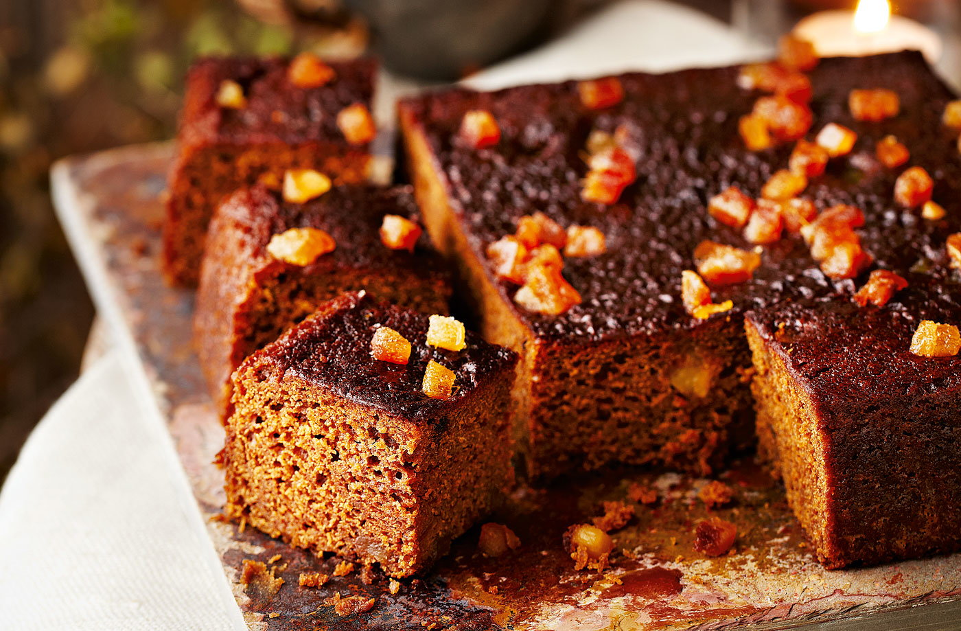 Sticky Date And Ginger Cake