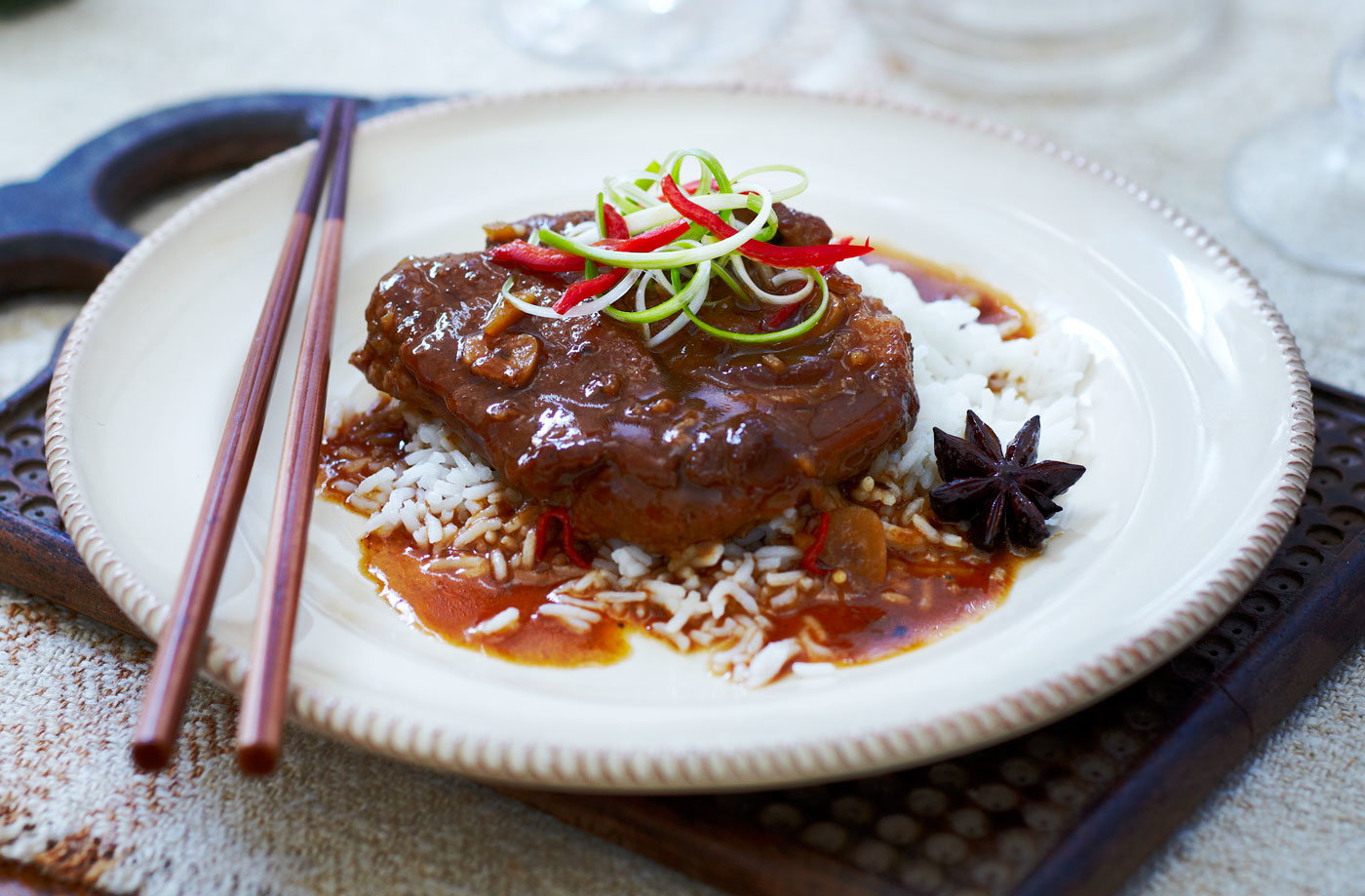 Slow cooker Asian pork roast