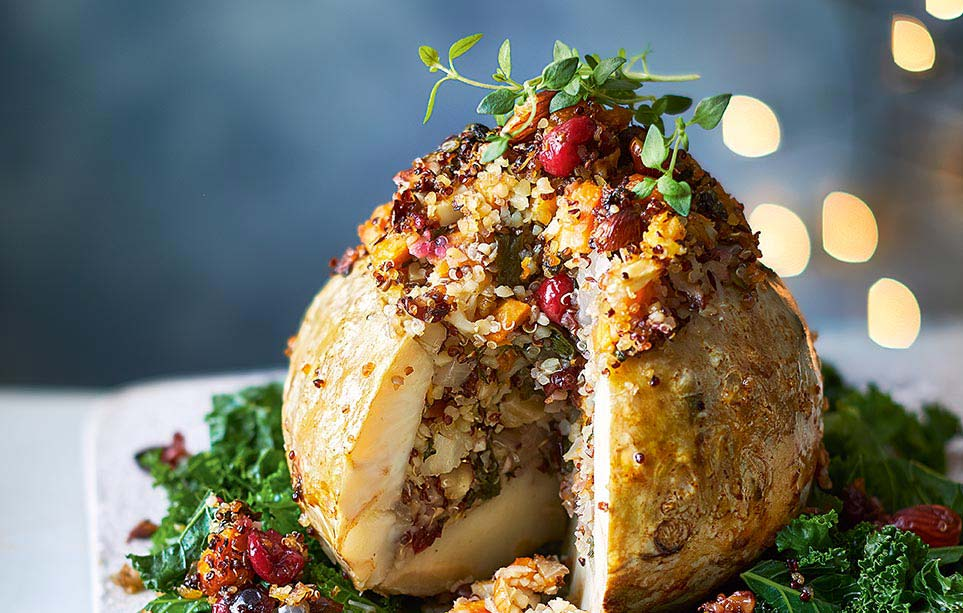 Eight ideas for a vegetarian Christmas