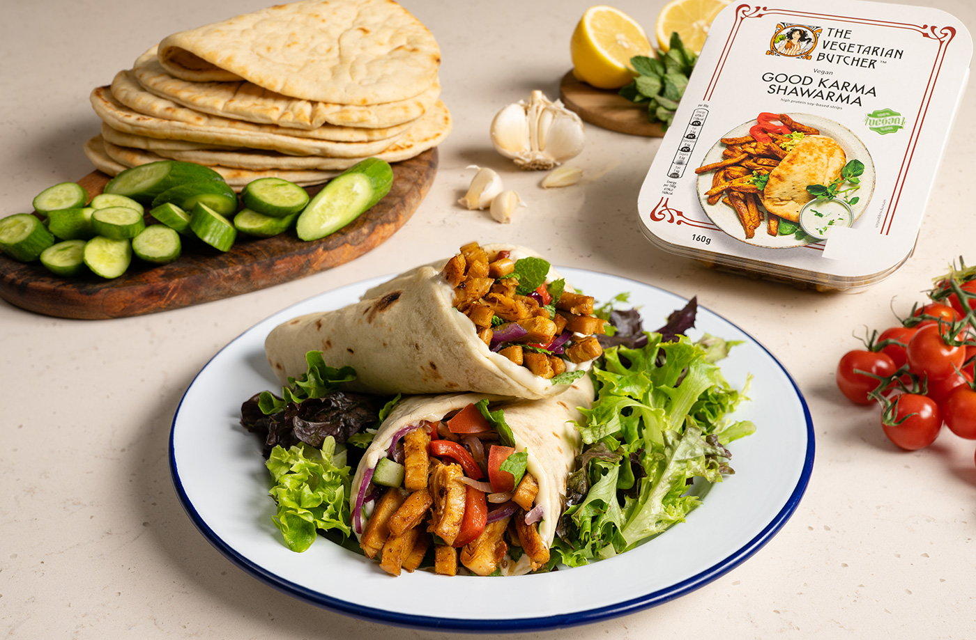 Sue's 'welcome home' vegan wraps