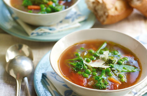 Summer minestrone HERO