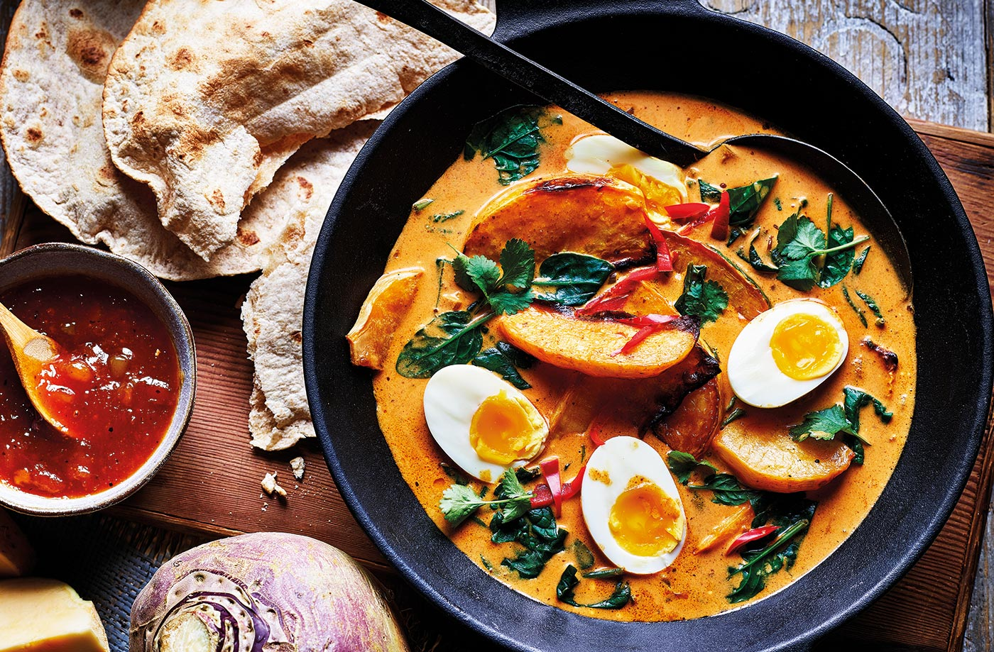 Swede And Coconut Curry