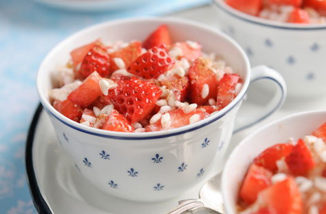 Sweet Eve Strawberry Oven Bake Risotto with Buttermilk (h)