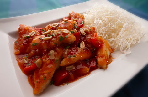 Sweet and Sour chicken (t)