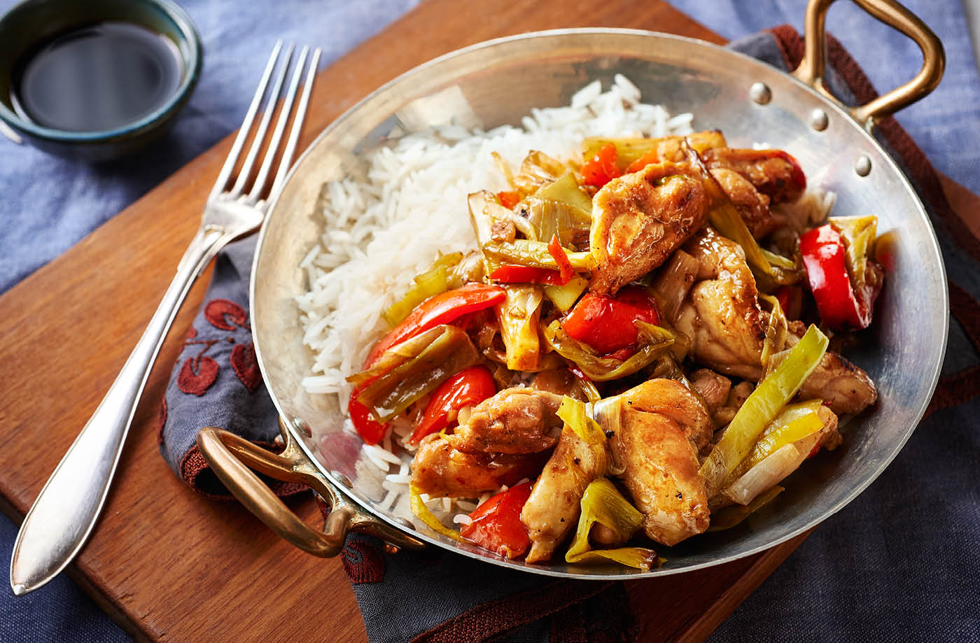 Chicken stir fry stir fry recipes tesco real food forumfinder Image collections