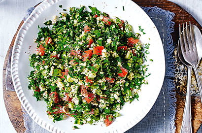 Embrace the warmer weather with vibrant spring salads packed full of veg