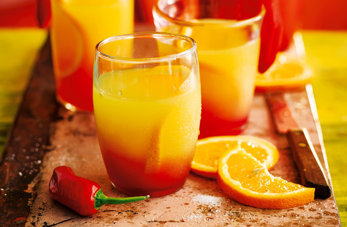Tequila sunrise cocktail recipes tesco real food chilli infused tequila sunrise recipe forumfinder